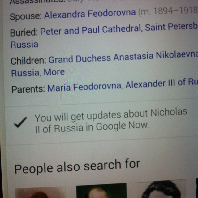 Google NoW?!? ... Really ??