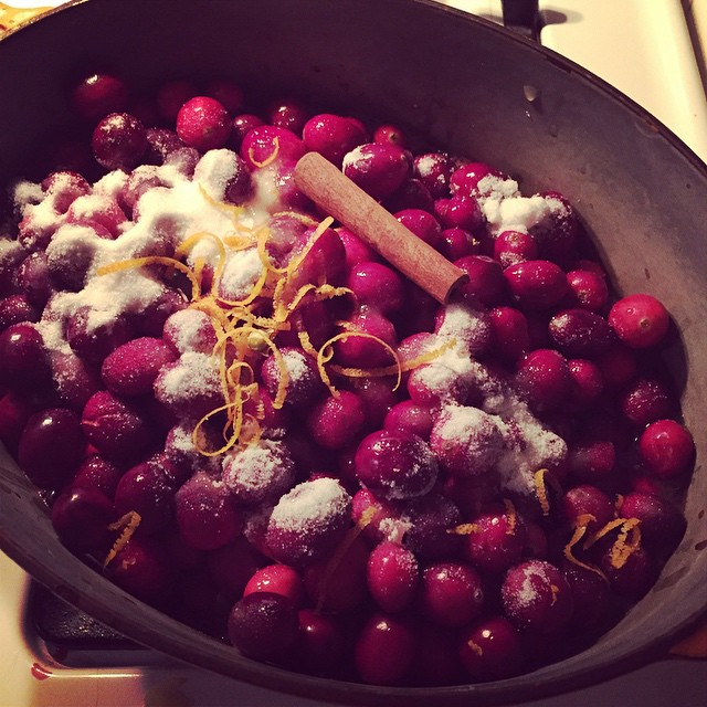 Cranberry saucaaay