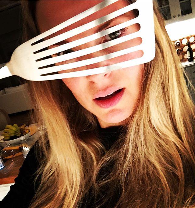 80's sunglasses fish spatula.