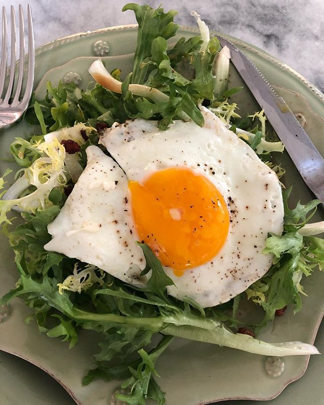 Frisée salad ️