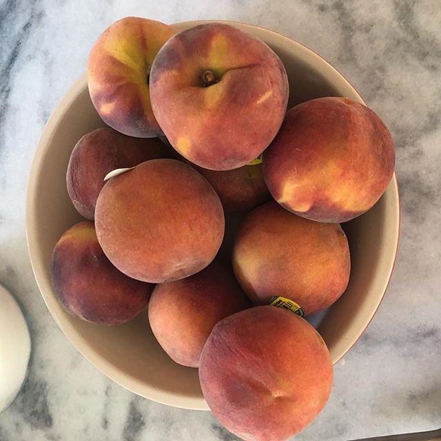 Peach party!